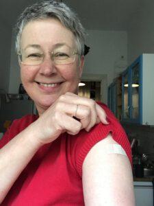 Susanne geimpft